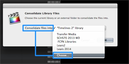 how to move iphoto library to external hard drive 2014
