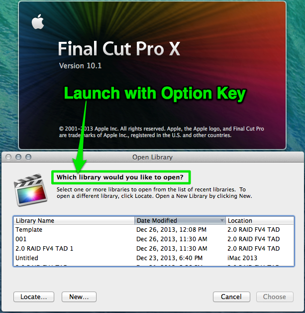 Final Cut Pro X 10.1 Tips and Tricks 01